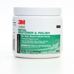3M™ 051131-09019 Metal Restorer and Polish, 18 oz Bottle, Pink