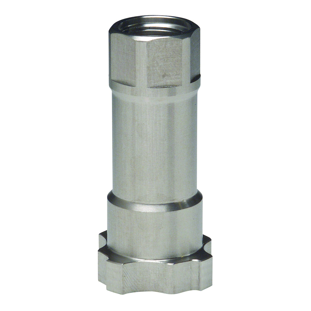 3M™ PPS™ 051131-16102 16102 Type 16 Spray Adapter, 3 in ID, For Use With 3M™ Paint Preparation System, Stainless Steel