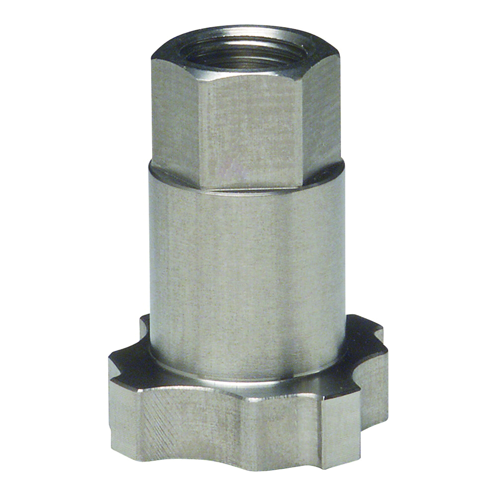 3M™ PPS™ 051131-16109 16109 Type 23 Adapter, 1 in ID Female, 18 Thread NPS, For Use With 3M™ Paint Preparation System, Stainless Steel