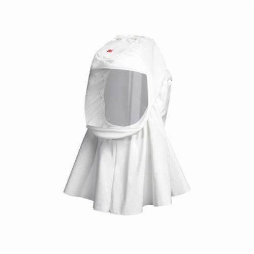 3M™ Versaflo™ 051131-17087 High Durability Hood, M/L, For Use With Powered Air Purifying Respirator (PAPR) and Supplied Air Respirators (SAR) Systems, White