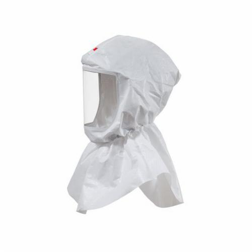 Versaflo™ 051131-17091 Replacement Hood With Inner Collar, For Use With Powered Air Purifying Respirator (PAPR) and Supplied Air Respirators (SAR) Systems, S-655 Hood Assembly, White