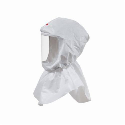 3M™ Versaflo™ 051131-17091 Replacement Hood With Inner Collar, For Use With Powered Air Purifying Respirator (PAPR) and Supplied Air Respirators (SAR) Systems, S-655 Hood Assembly, White