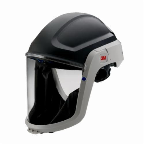 3M™ Versaflo™ 051131-17317 Respiratory Hardhat Assembly With Faceshield, For Use With M-300 Series Hardhat, Gray, Class G