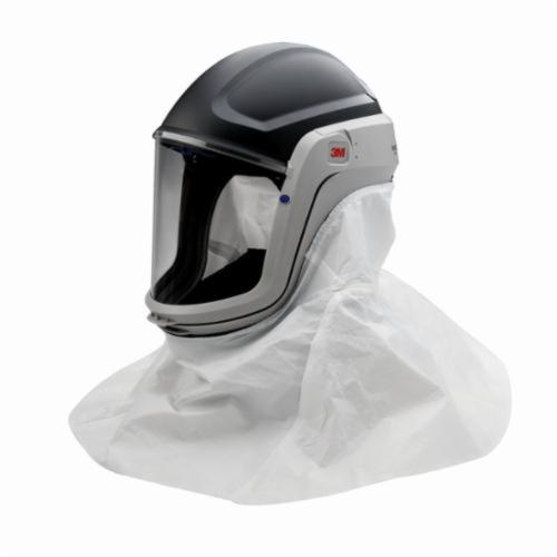 3M™ Versaflo™ 051131-17322 Respiratory Helmet Assembly With Faceshield, For Use With M-400 Series Helmet, Gray, Class G