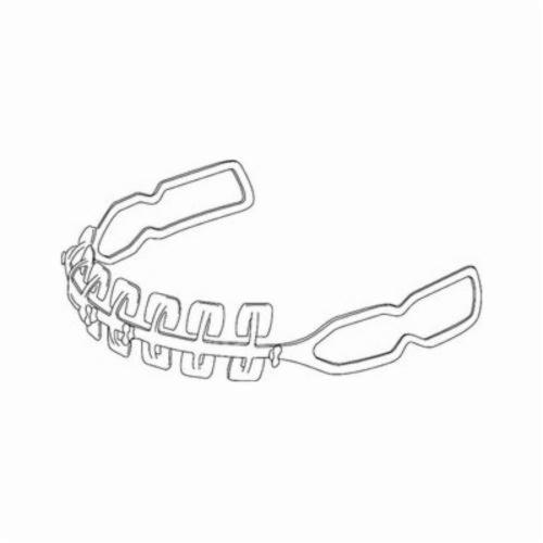 Speedglas™ 051131-37188 Replacement Headband Front Part, For Use With 9100 Air Welding Helmets and 9100 Welding Helmets