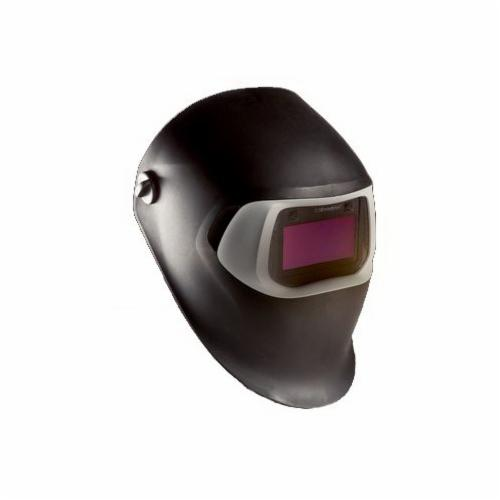 Speedglas™ 051131-37231 100 Fixed Front Welding Helmet With Auto-Darkening Filter, 3, 11 Lens Shade, Black, 6.05 sq-in Viewing Area, Specifications Met: ANSI Z87.1-2003, Z87.1-2010, CSA Z94.3