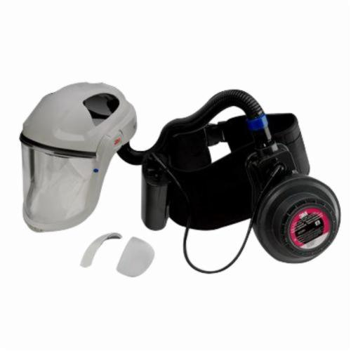 3M™ 051131-37335 GVP Powered Air Purifying Respirator Painter's Kit, Rechargeable Ni-Cd Battery