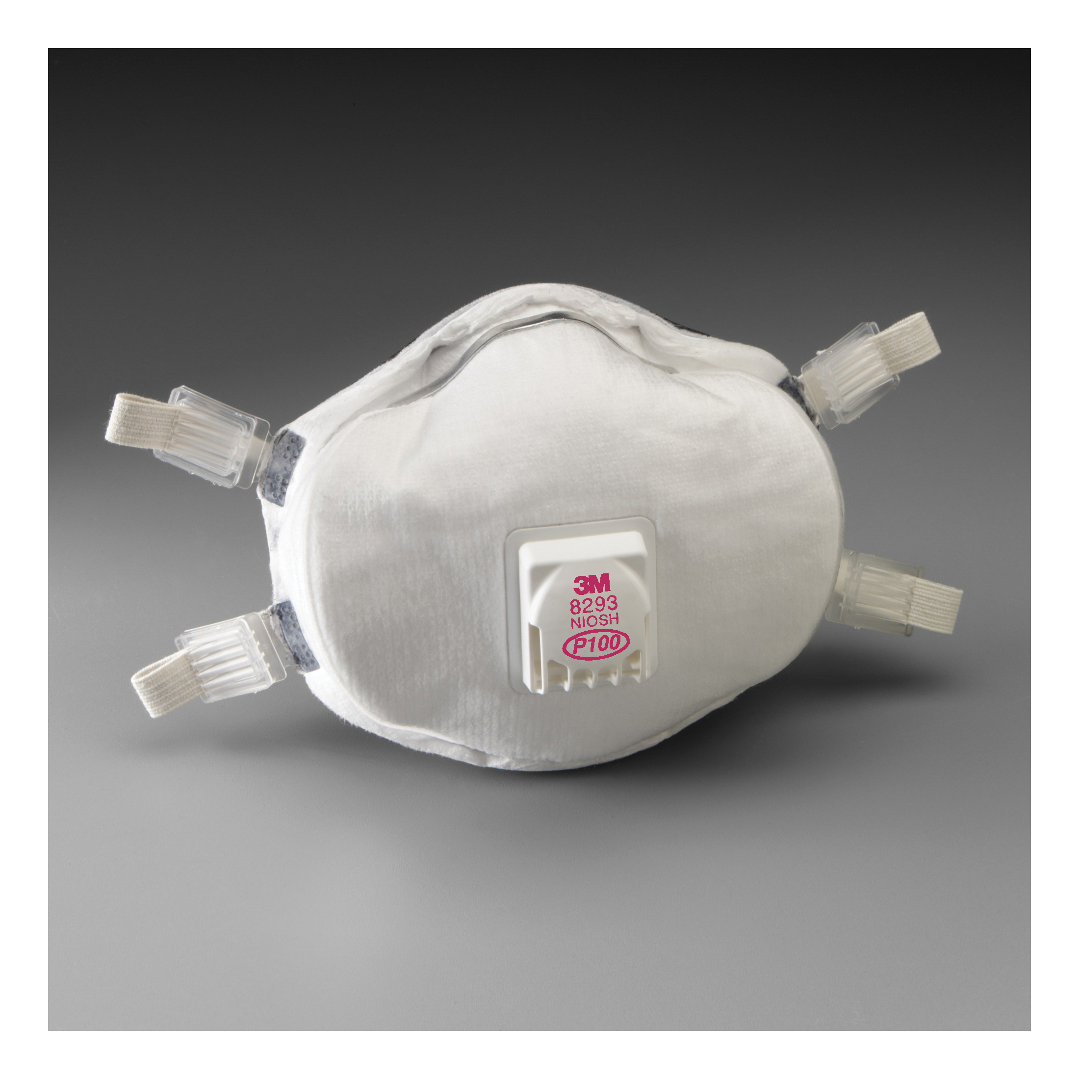 3M™ 051138-54336 Cup Style Disposable Lightweight Particulate Respirator, Standard, Resists: MDA, Arsenic, Cadmium, Certain Non-Oil Based Particles, Dust and other Particles