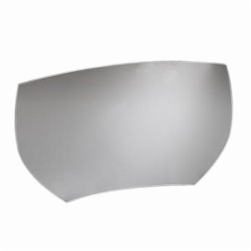 3M™ 051131-52565 AS131-10 Scratch Resistant Anti-Fog Visor, Clear, Plastic, For Use With AS-200LBC, AS-400LBC and AS-600LBC PAPR Systems