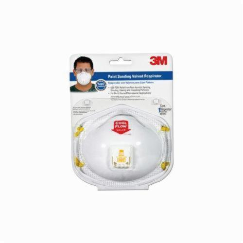 3M™ 051131-76499 Valved Respirator Clip Strip, Specifications Met: NIOSH N95