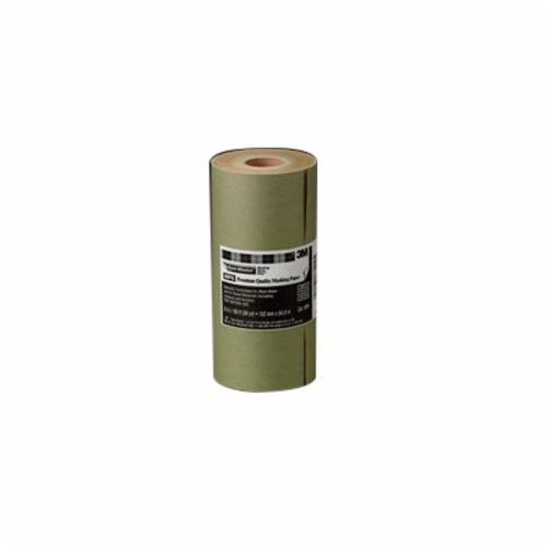 3M™ Hand Masker™ 051131-77402 Premium Masking Paper, 60 yd L x 6 in W, Paper
