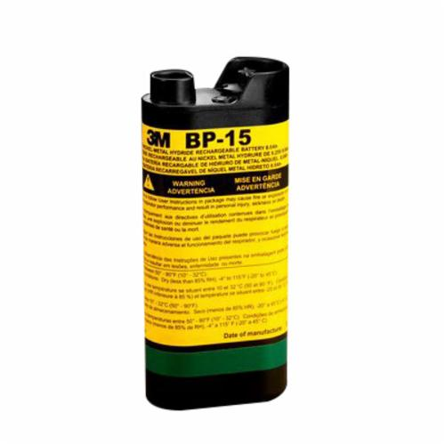 3M™ Breathe Easy™ 051131-91644 Powered Air Purifying Respirator Battery Pack, NiMH - Rechargeable Battery, NIOSH Approved