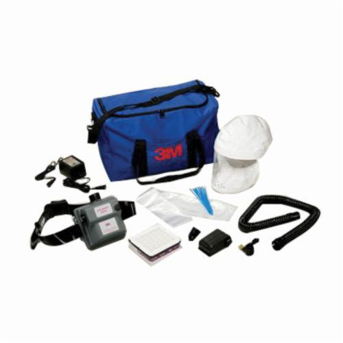 3M™ Air-Mate™ 051131-98922 High Efficiency Powered Air Purifying Respirator System, HEPA Filters and Cartridges, Rechargeable Ni-Cd Battery, Specifications Met: NIOSH Approved