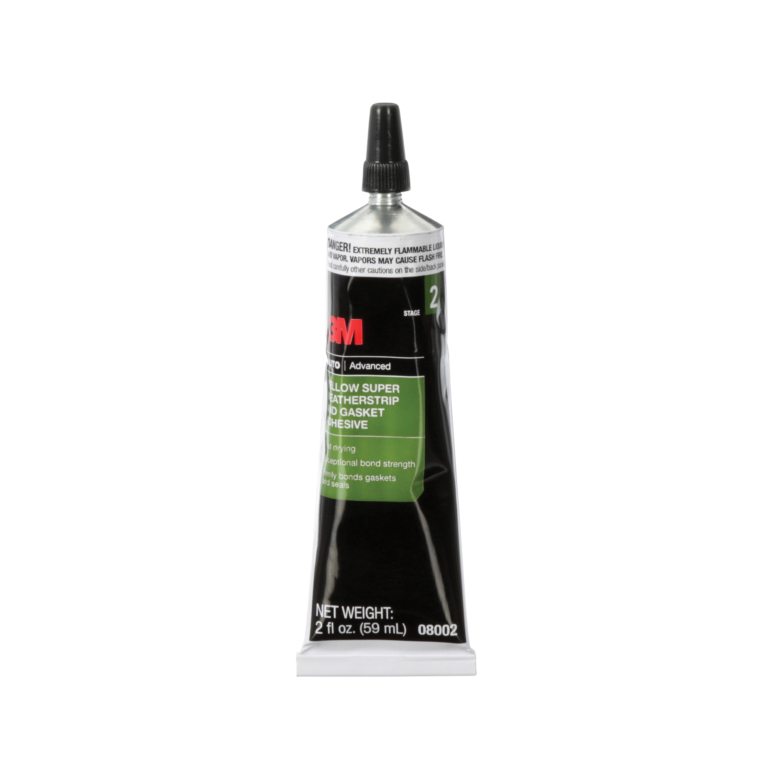 3M™ 051135-08001 Extremely Fast Drying Super Weatherstrip and Gasket Adhesive, 5 oz Tube