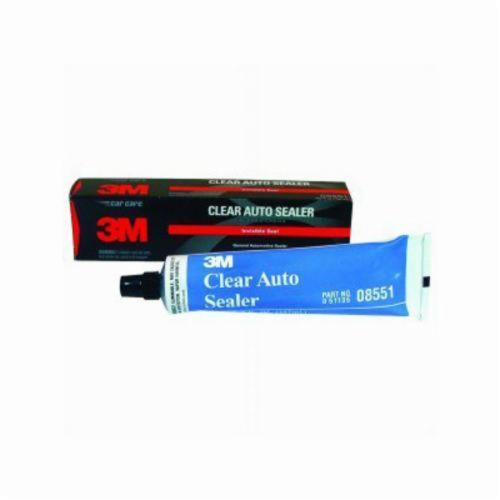 3M™ 051135-08551 High Performance Non-Shrinking Adhesive Sealant, 5 fl-oz Tube, Medium Paste, Clear, 1.3
