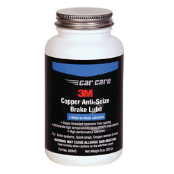 3M™ 051135-08945 Anti-Seize Brake Lubricant, 10 oz Bottle, Petroleum Odor/Scent, Dark Copper, Liquid/Paste Form