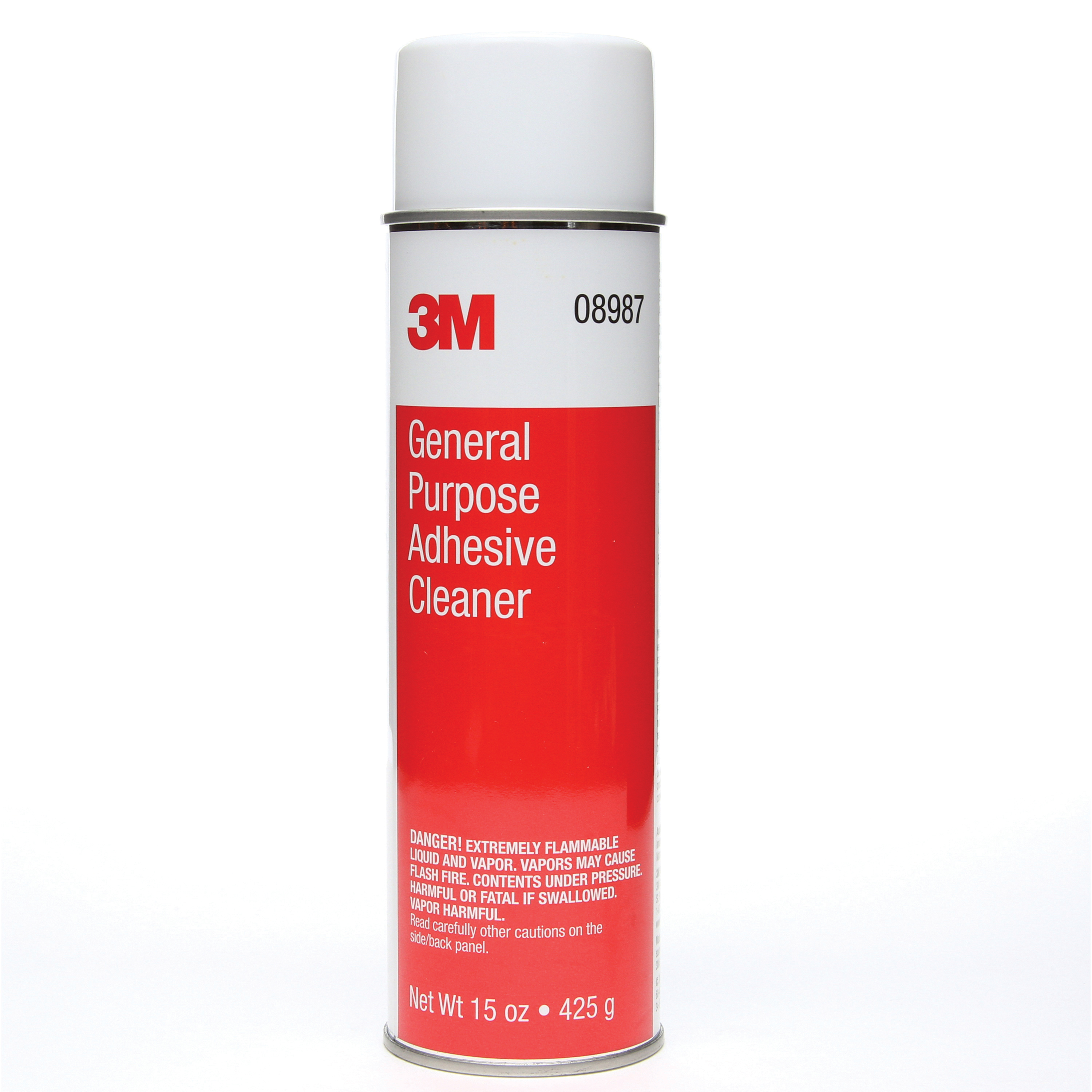 3M™ 051135-08987 General Purpose Adhesive Cleaner, 425 gm Aerosol Can, Liquid, Clear, Solvent