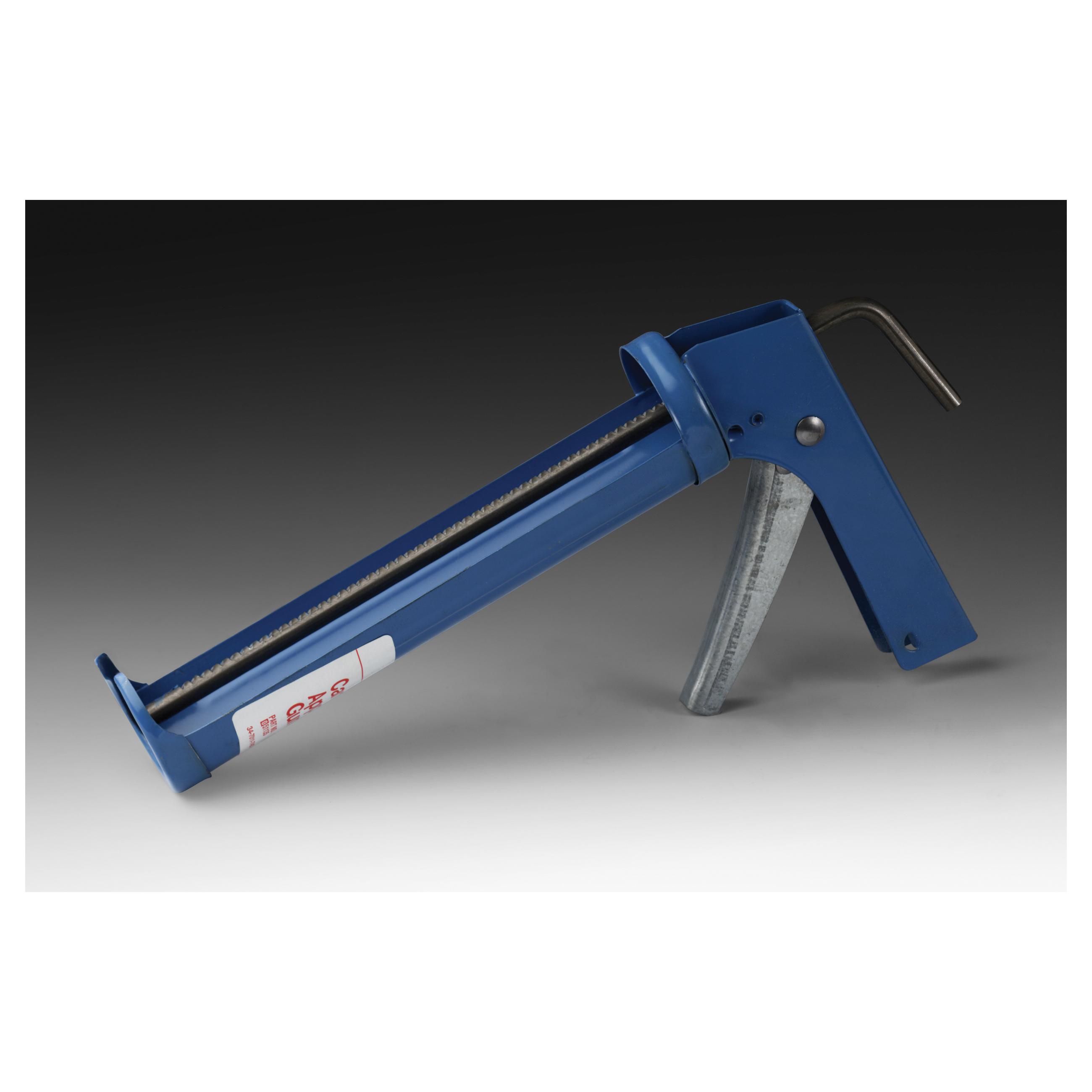 3M™ 051135-08992 Manual Cartridge Applicator Gun, 0.1 gal, Blue