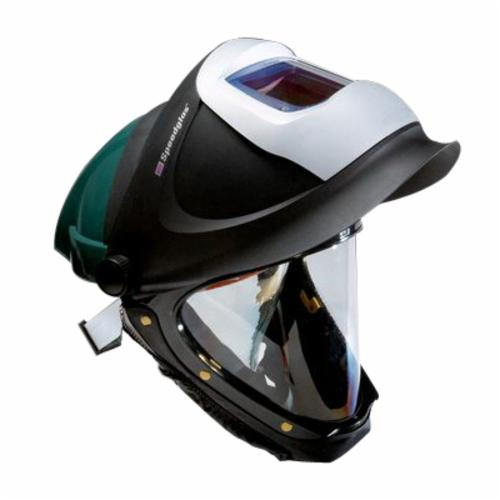 3M™ 051135-89452 L-Series Hard Hat With Welding Shield and Wide-View Faceshield, ANSI Electrical Class Rating: Class G, ANSI Impact Rating: Type I