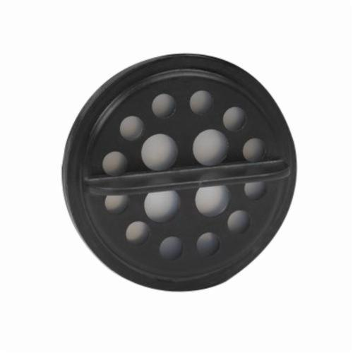 3M™ 051135-89485 Speech Diaphragm Assembly, For Use With FF-401, 402 and 403 Ultimate FX Full Facepiece Reusable Respirators, Black