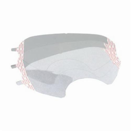 3M™ 051135-89486 Lens Cover, For Use With FF-401, 402 and 403 Ultimate FX Full Facepiece Reusable Respirators, White