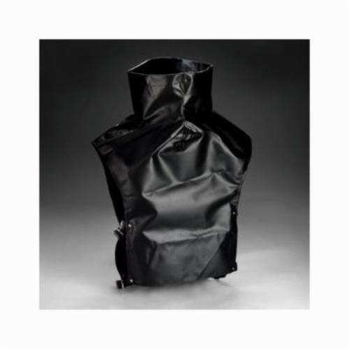 3M™ 051138-21592 Heavy Duty Outer Shroud, For Use With Whitecap™ W-8100 Abrasive Blasting Helmets, Black