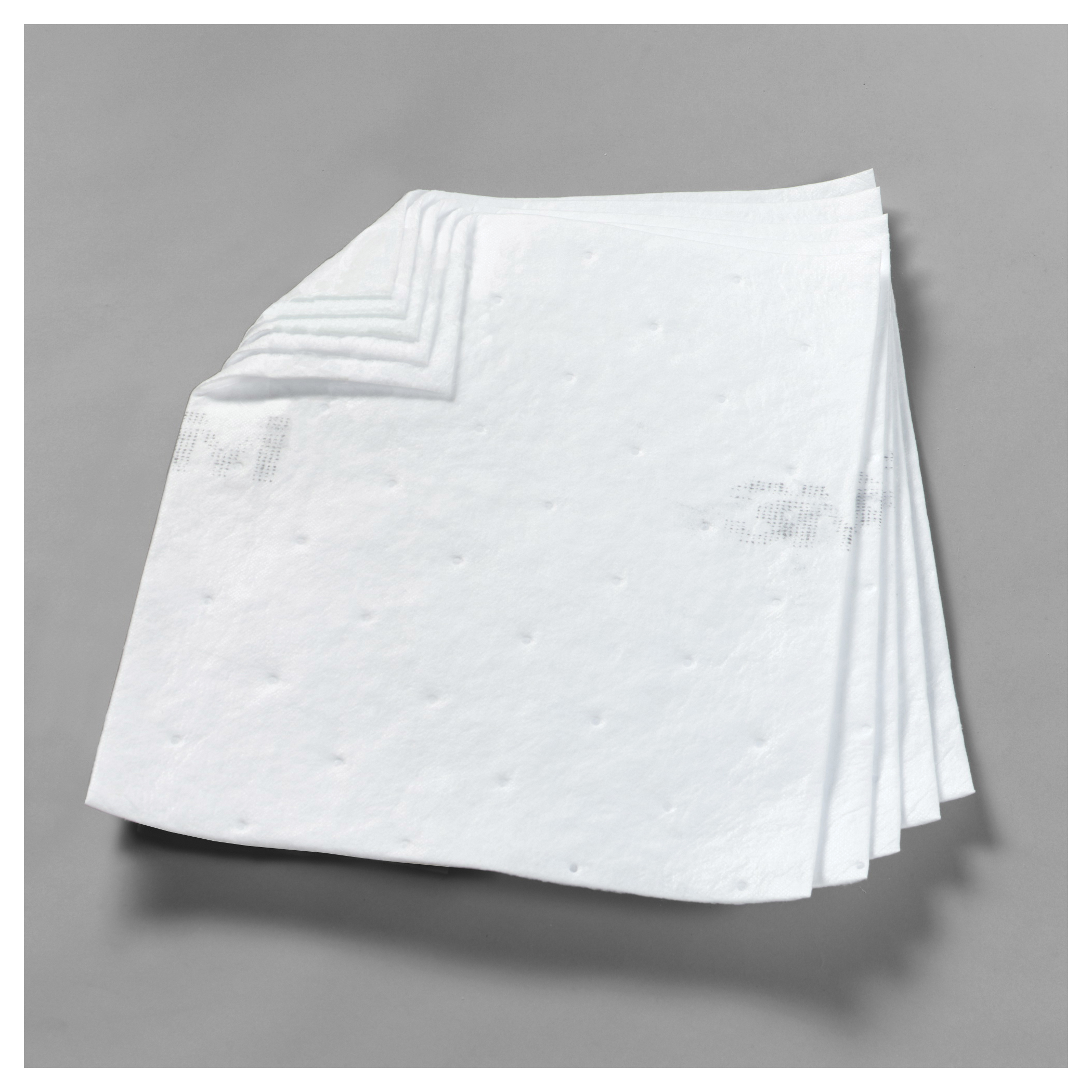3M™ 051138-28991 HP-156 High Capacity Sorbent Pad, 43 in L x 48 in W x 1 in THK, 37.5 gal Absorption, Polypropylene