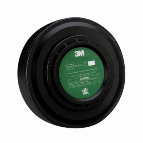 3M™ 051138-29350 Cartridge, For Use With PAPR Systems, Gray, Resists: Ammonia