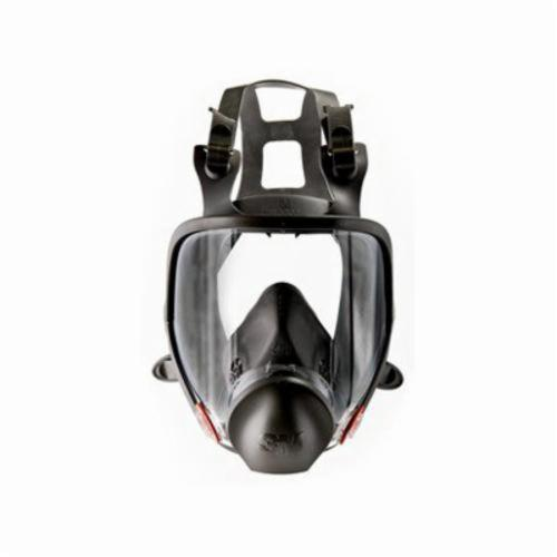 3M™ 051138-54145 Reusable Full Face Respirator With Cool Flow™ Valve, S, 4-Point Suspension, Bayonet Connection, Resists: Gases, Particulates and Vapors
