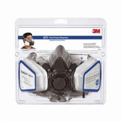 3M™ 051138-54251 Paint Project Respirator Kit, M, Resists: Solid and Liquid Aerosols and Organic Vapors