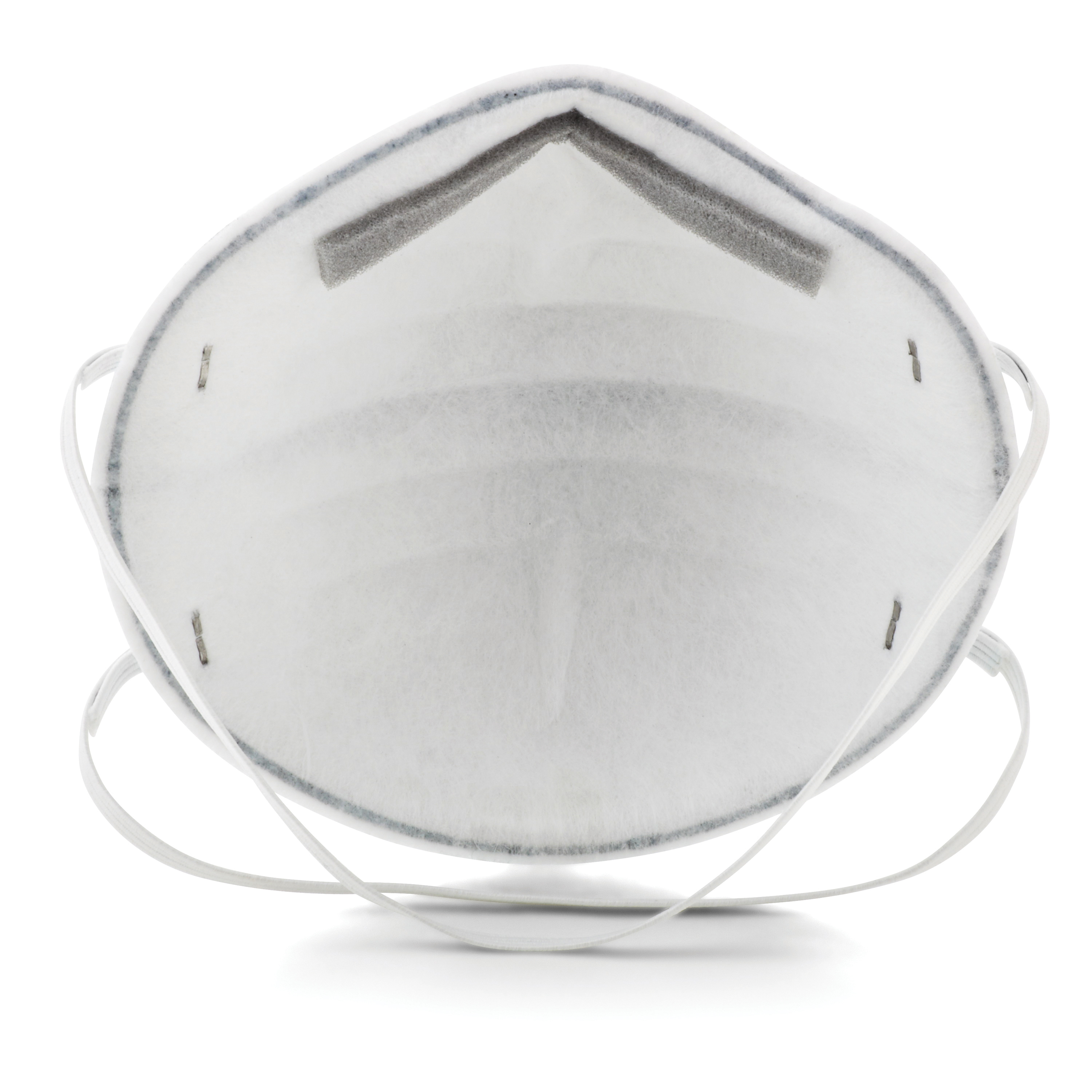 3M™ 051138-54357 8246 Cup Style Disposable Lightweight Particulate Respirator, Standard, Resists: Certain Oil, Non-Oil Based Particles and Acid Gases