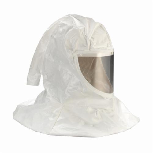 3M™ 051138-66100 H Series Hood Assembly With Inner Shroud and Hard Hat, Standard, Tychem®, Specifications Met: ANSI Z89.1-2003 Type I Class E, NIOSH Approved