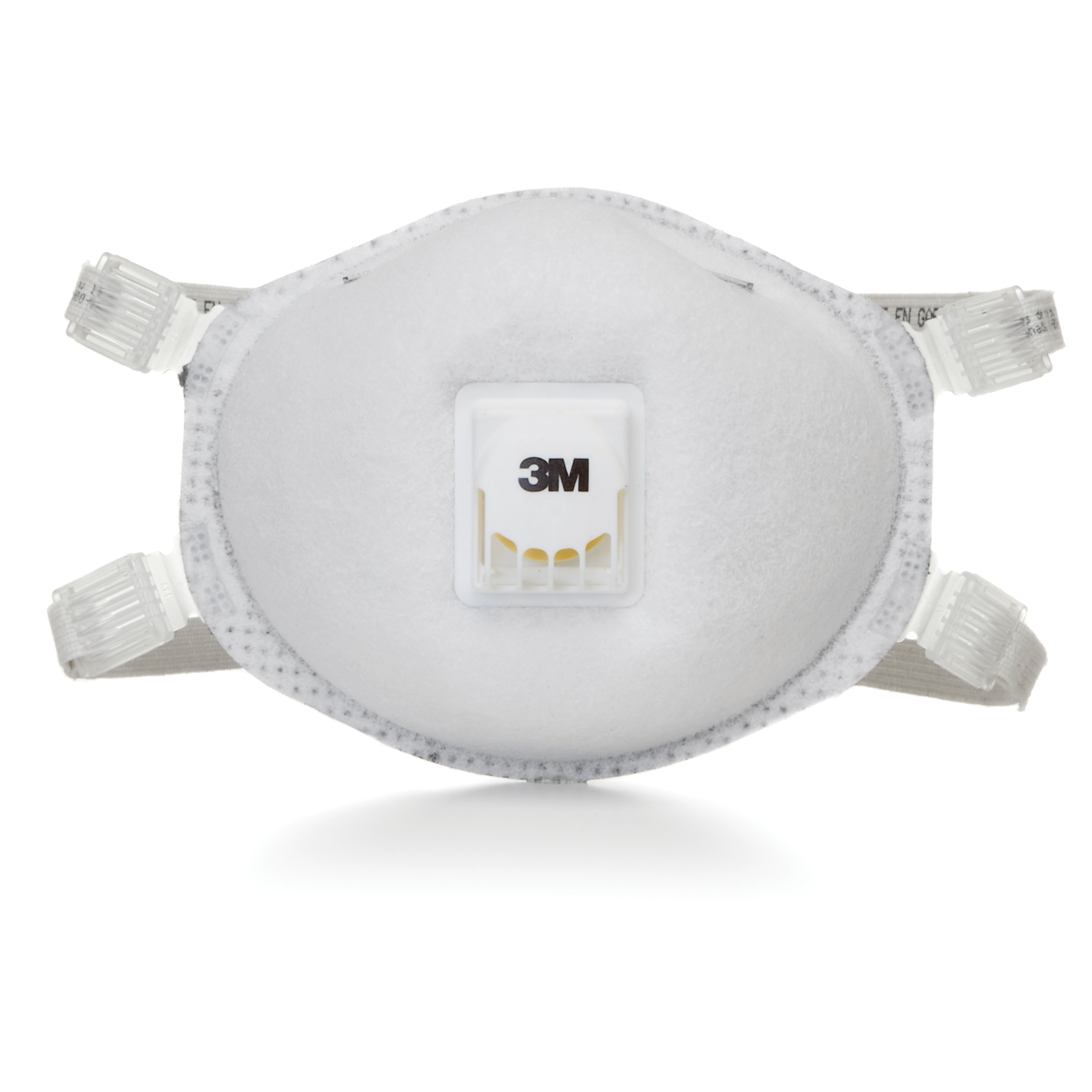 3M™ 051138-66192 Cup Style Disposable Particulate Respirator With Cool Flow™ Exhalation Valve, Standard, Resists: Organic Vapors, O-Zone and Certain Non-Oil Based Particles