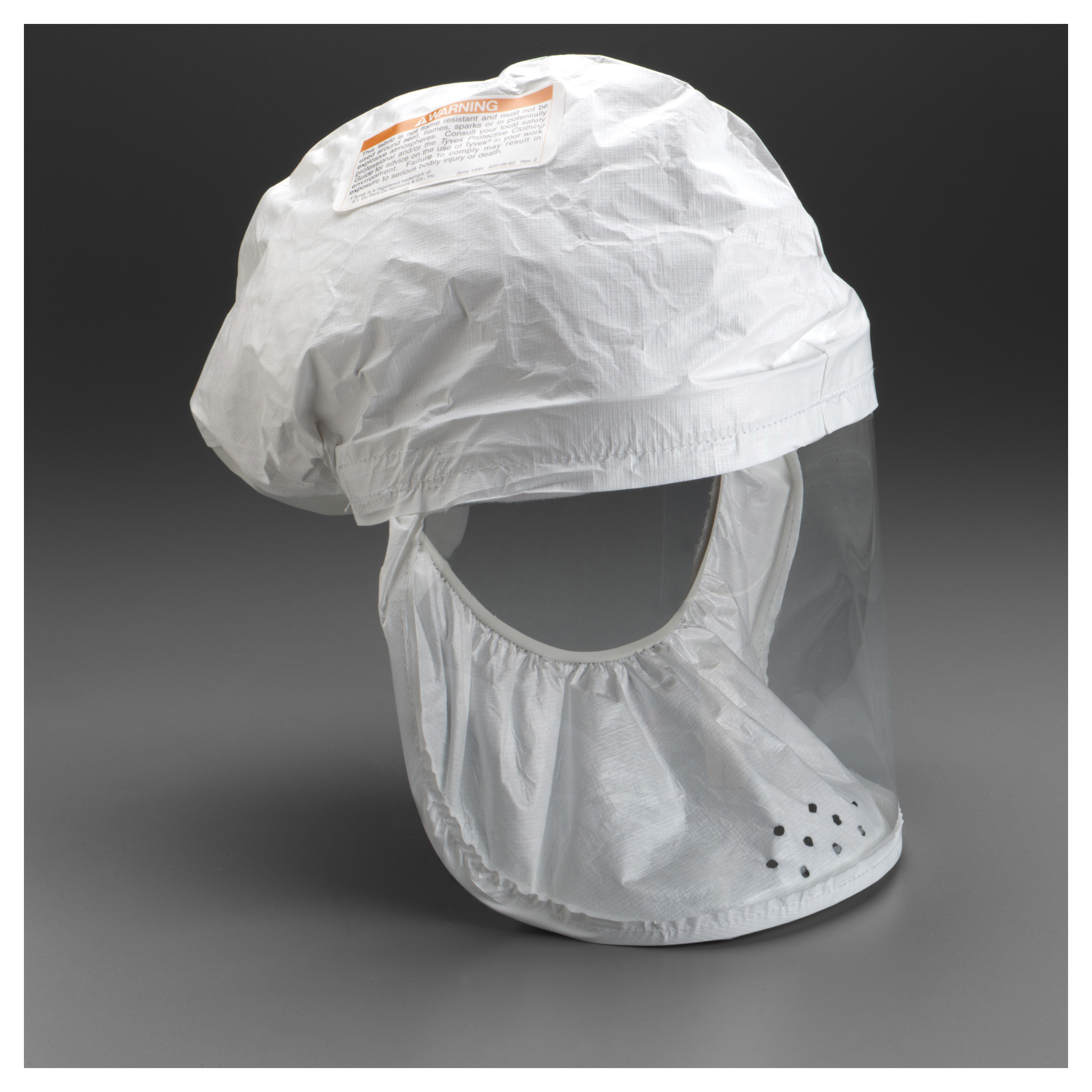 3M™ Breathe Easy™ 051138-72431 BE-12-50 Head Cover, For Use With Air-Mate™ and Breathe Easy™ PAPR System
