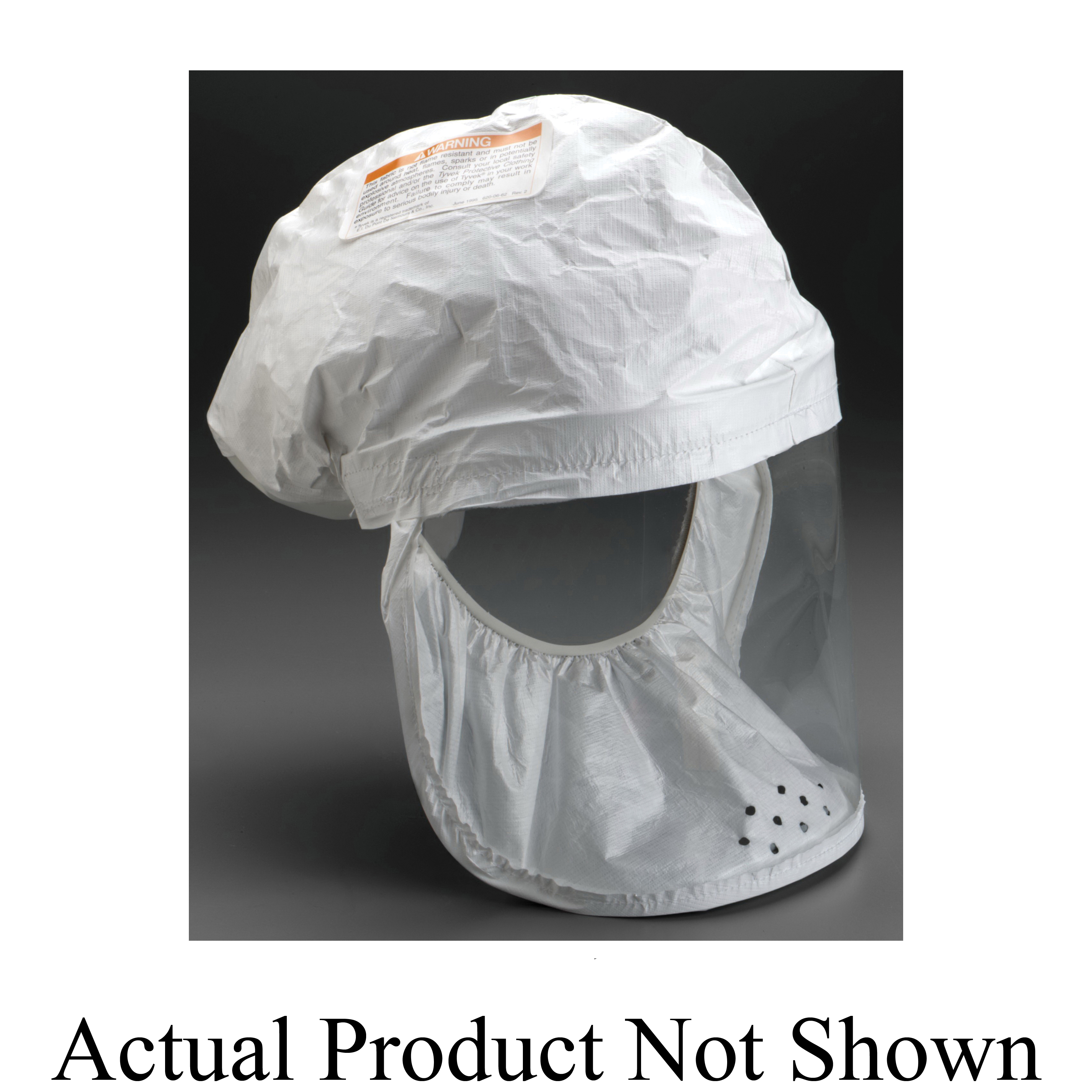 3M™ 051138-72432 Head Cover, For Use With Air-Mate™ and Breathe Easy™ PAPR Systems