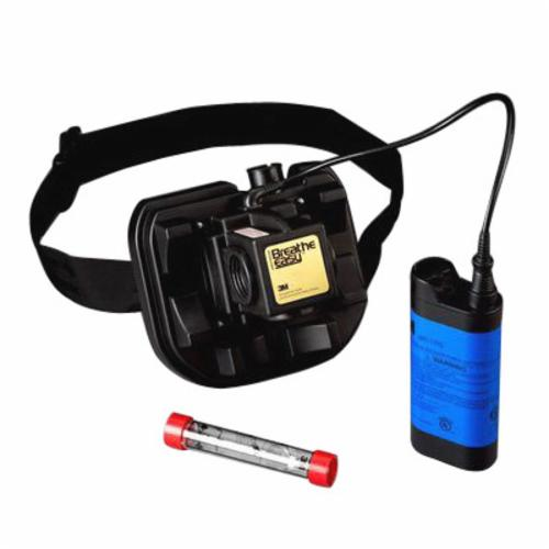 3M™ Breathe Easy™ 051138-72838 Powered Air Purifying Respirator Assembly, HEPA Filters and Cartridges, Rechargeable Ni-Cd Battery