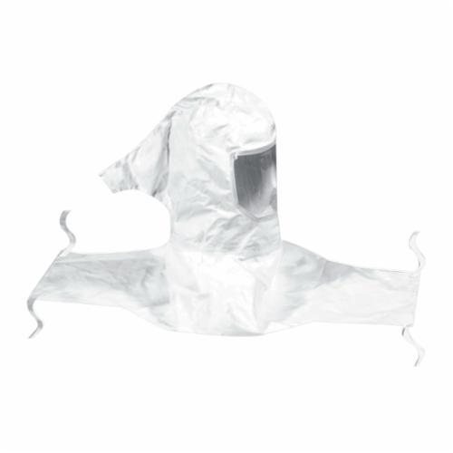 3M™ 051138-76552 H Series Hood Assembly With Collar and Hard Hat, Standard, Tychem®, Specifications Met: ANSI Z89.1-2003 Type I Class E, NIOSH Approved