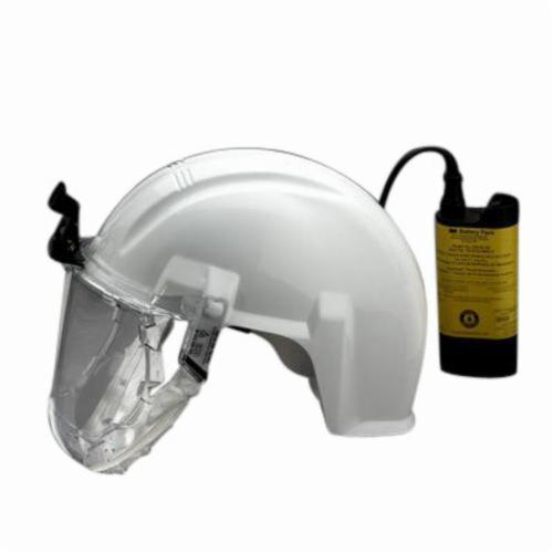 3M™ Airstream™ 051138-76560 Powered Air Purifying Respirator System, HEPA Filters and Cartridges, Rechargeable Ni-Cd Battery, Specifications Met: ANSI Z89.1 Type I, Class C