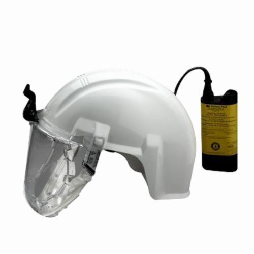 3M™ Airstream™ 051138-76571 Mining Headgear Shell Assembly With Lamp Bracket and Hinge, For Use With Airstream™ PAPR Systems