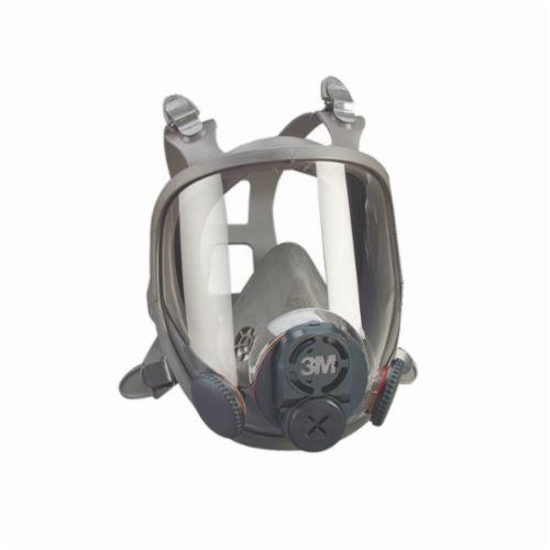 3M™ 051138-76703 Reusable Full Face Respirator, L, 4-Point Suspension, Bayonet/DIN/Threaded Connection