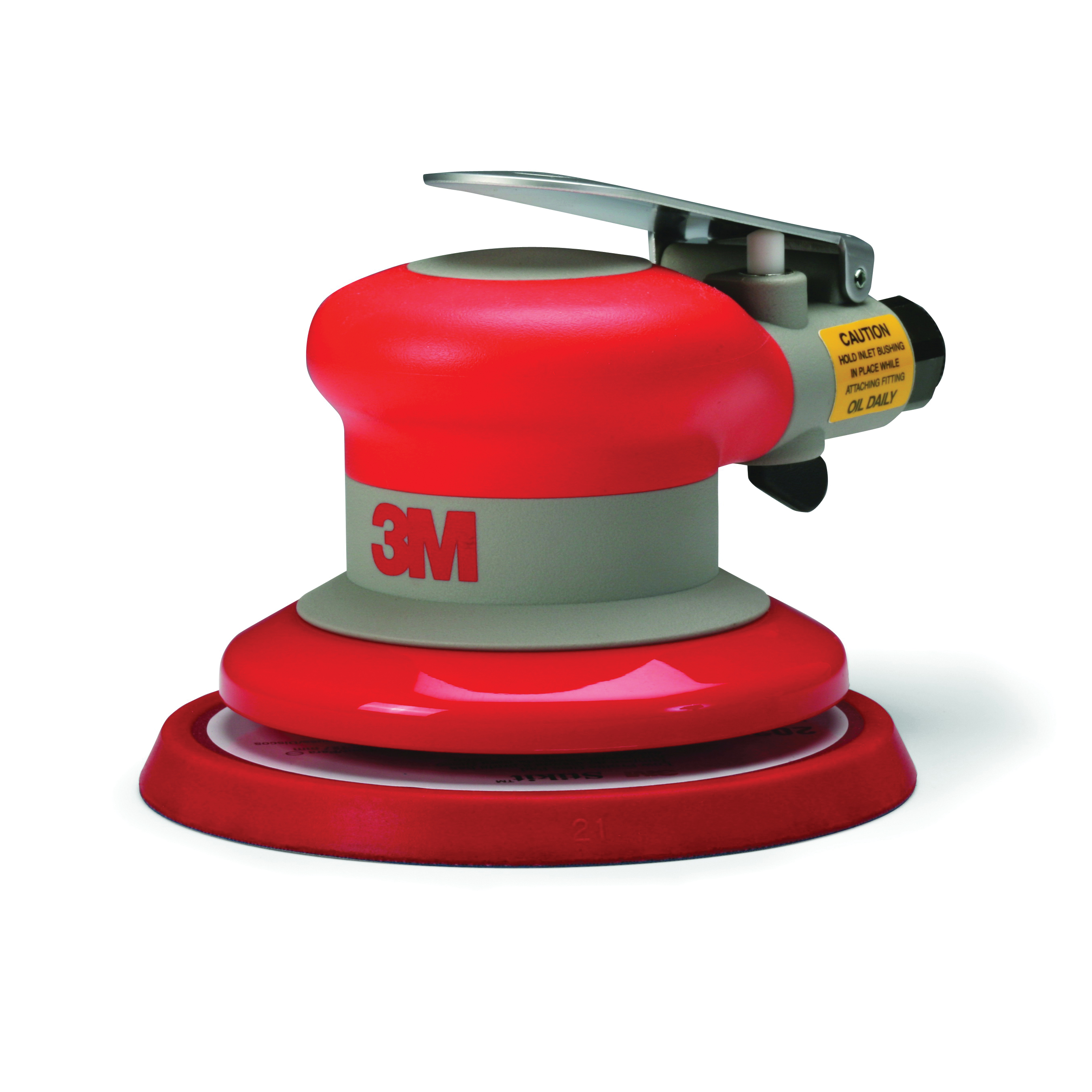 3M™ Elite® 051141-20317 Non-Vacuum Pneumatic Random Orbital Sander, 5 in Round Pad, 17 scfm Air Flow