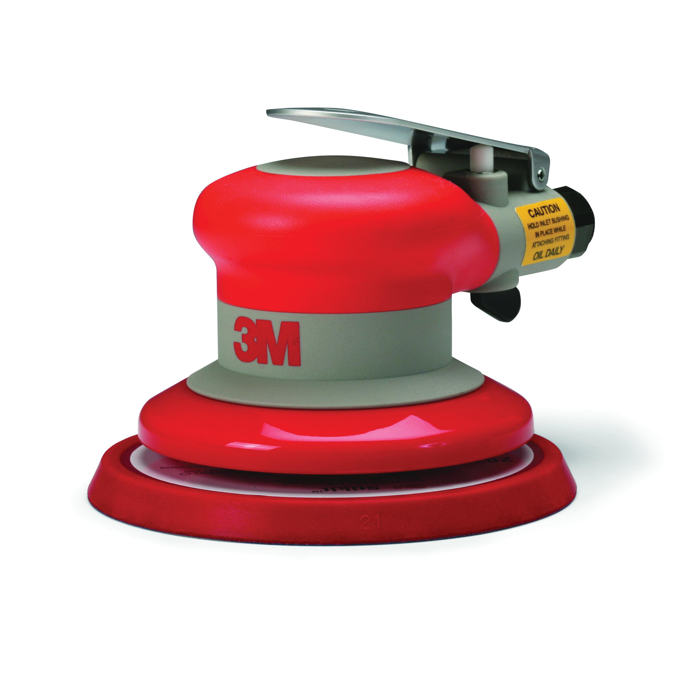 3M™ Elite® 051141-20317 Non-Vacuum Pneumatic Random Orbital Sander, 5 in Disc Pad, 17 scfm, Tool Only