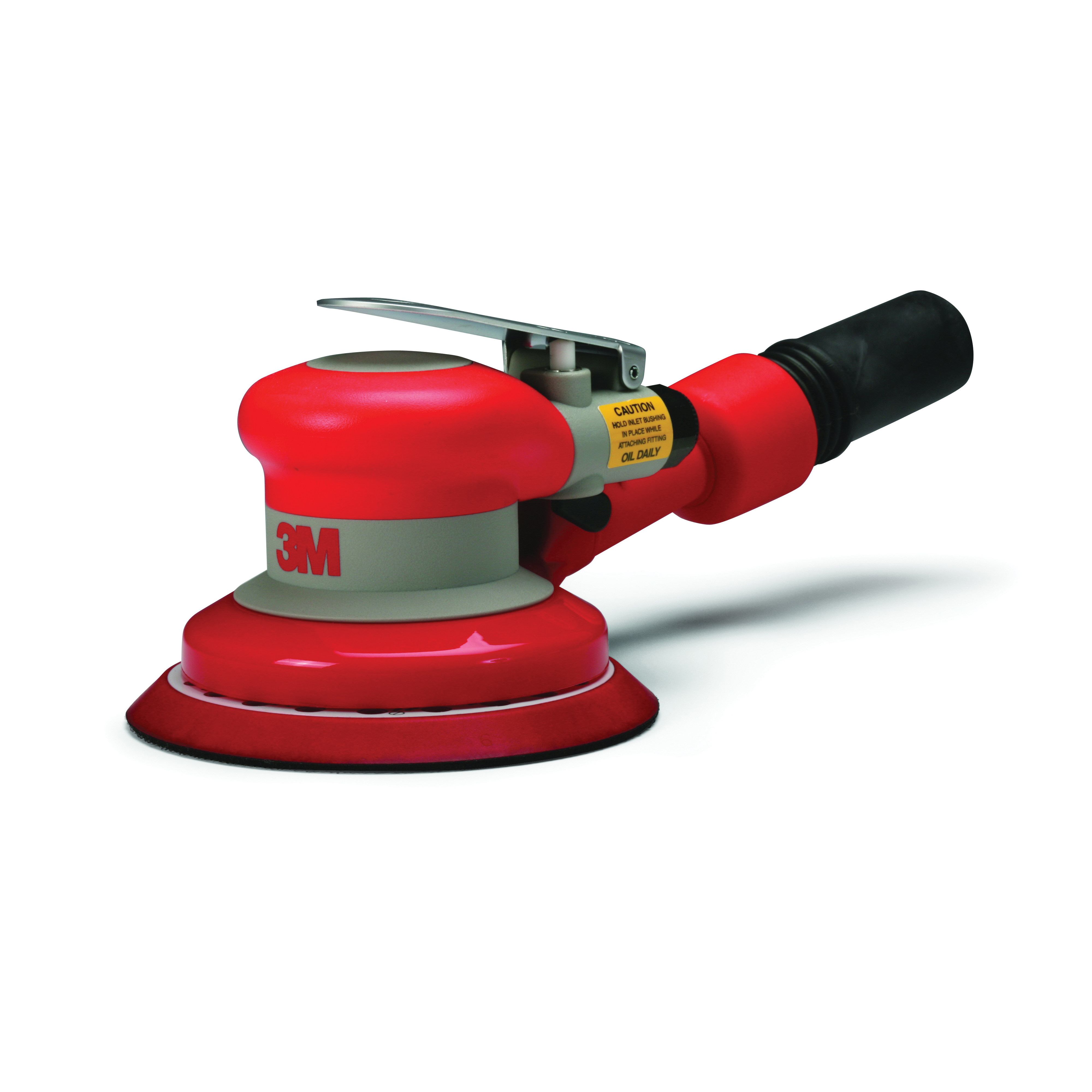 3M™ 051141-20319 Self-Generated Vacuum Pneumatic Random Orbital Sander, 5 in Pad, 17 scfm Air Flow