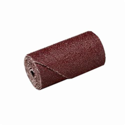 3M™ 051144-97061 Coated Regular Cartridge Roll, 1/2 in Dia x 1-1/2 in OAL, 1/8 in Pilot Hole, P240 Grit, Aluminum Oxide Abrasive