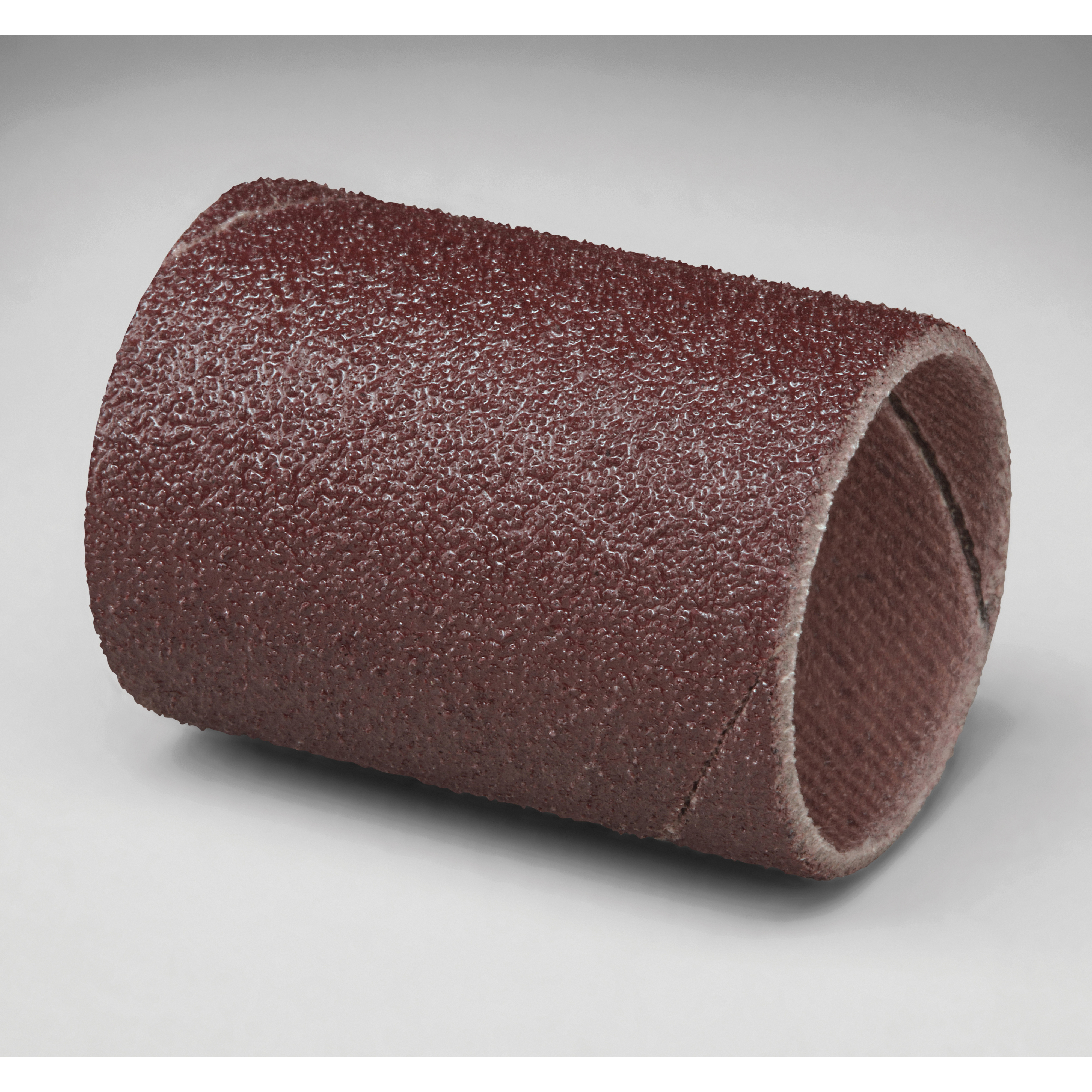 3M™ 051144-11980 341D Coated Spiral Band, 1 in Dia x 1-1/2 in L Band, 60 Grit, Medium Grade, Aluminum Oxide Abrasive
