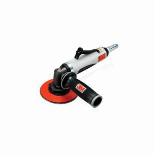 3M™ 051141-28408 Lightweight Pneumatic Disc Sander, 4 to 5 in Disc, 1 hp, 37 scfm, Tool Only