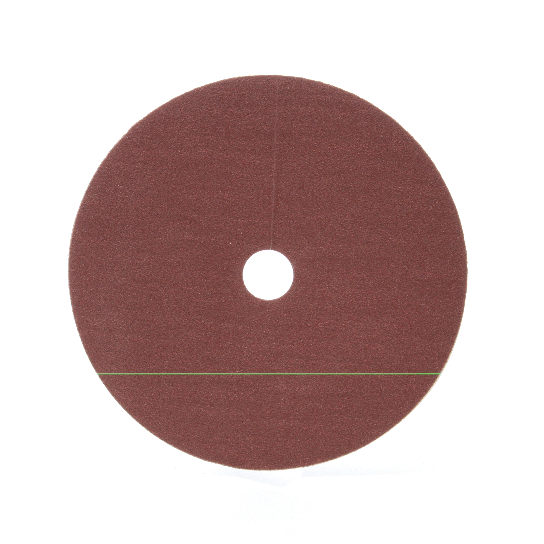 3M™ 051144-01739 Close Coated Abrasive Disc, 7 in Dia, 7/8 in Center Hole, 100 Grit, Fine Grade, Aluminum Oxide Abrasive, Arbor Attachment