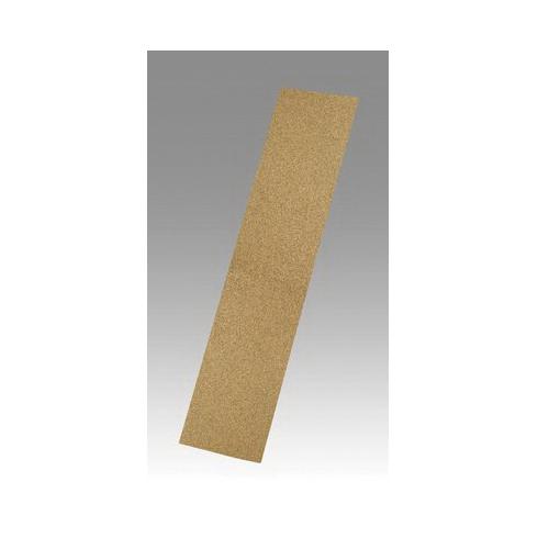 3M™ 051144-02134 Coated Abrasive Sheet, 17-1/2 in L x 2-3/4 in W, 100 Grit, Fine Grade, Aluminum Oxide Abrasive, Paper Backing