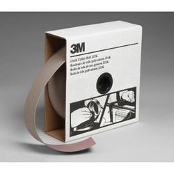 3M™ 05040 Utility Closed Coated Abrasive Roll, 50 yd L x 2 in W, 500 Grit, Super Fine Grade, Aluminum Oxide Abrasive, Cloth Backing