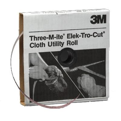 3M™ 051144-05050 Utility Cloth Roll, 2 in W x 50 yd L, 80 Grit, Medium Grade, Aluminum Oxide Abrasive, Cloth Backing